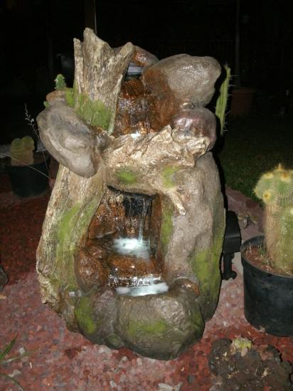 fontaine d'eau de la location