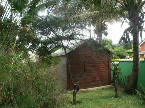 abri de jardin de la villa