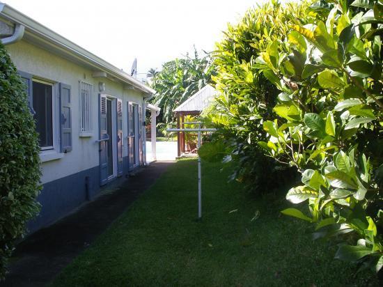 façade arrière de la location de vacances