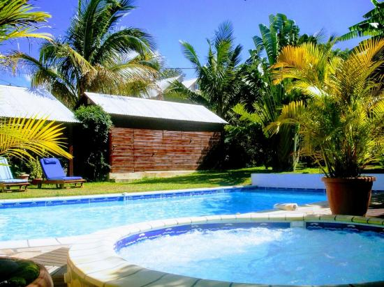 spa et piscine de l'hébergement
