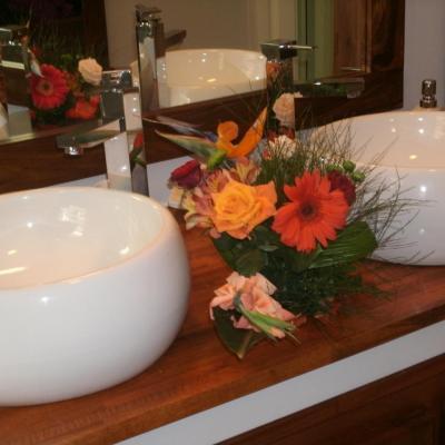 salle de bain rez de chausée de la villa