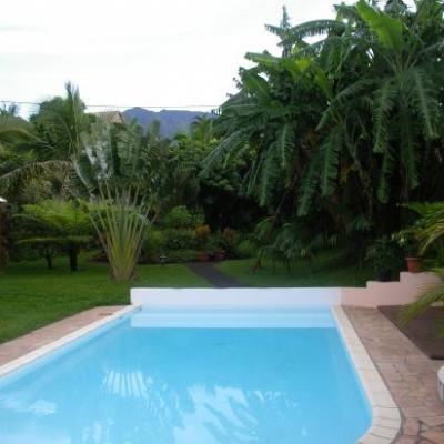 piscine de la villa en location