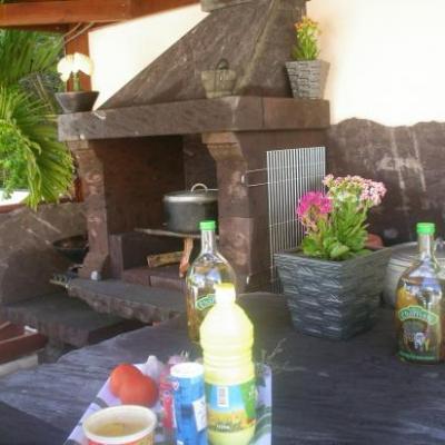 barbecue du meublé de tourisme