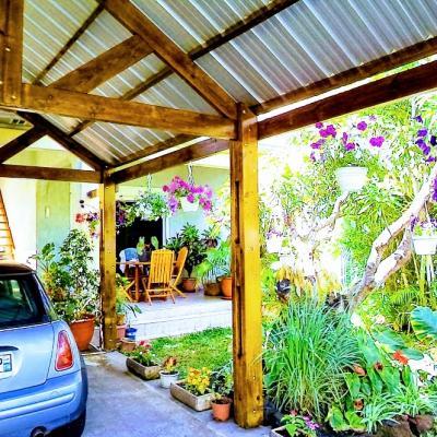 jardin de la villa F3